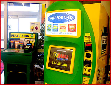 PA Lottery Machine - We sell tickets