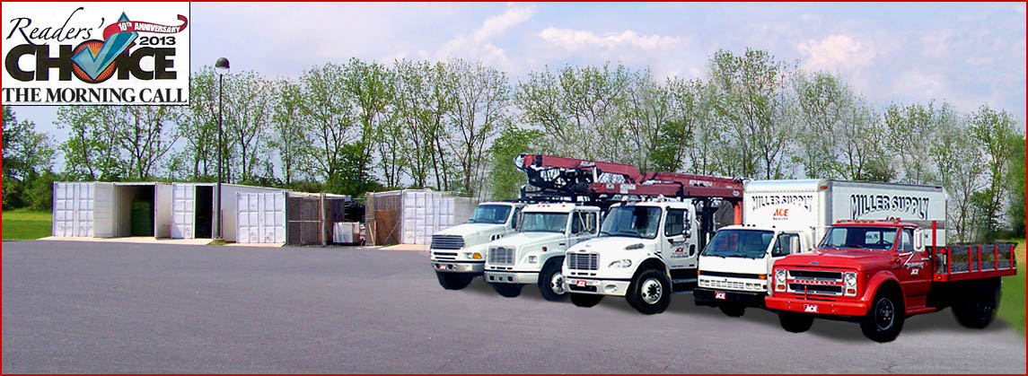 Miller Supply ACE Hardware Trucks
