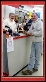 Dale Miller & Valued Customer Johnny