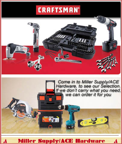 Miller Supply ACE Hardware - Tools