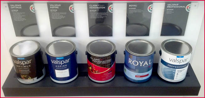 Miller Supply ACE Hardware - CLARK & KENSINGTON & valspar paints