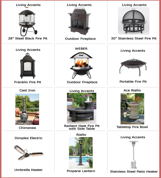 Miller Supply - Ace Hardware - Firepits, weber fireplaces ... on Propane Fire Pit Ace Hardware id=92979